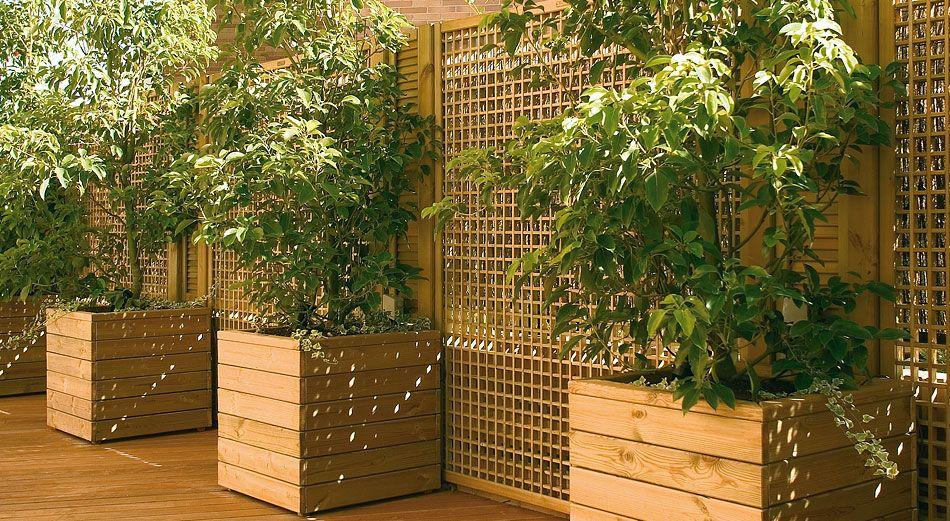 Jardineras macetas jardineras pinterest - Jardineras para terrazas ...