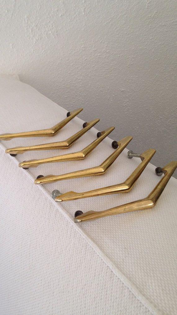 Superieur Mid Century Kitchen Hardware / Drawer Pulls In Gold By MayaVintage, $18.00