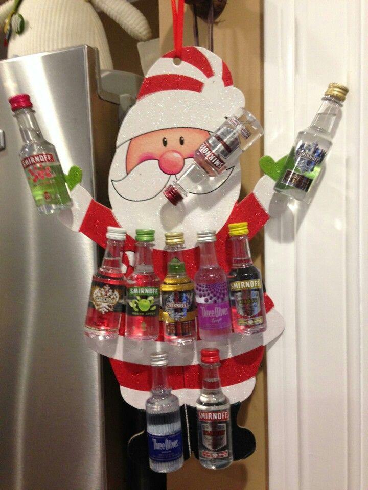 Drunken Santa For A Yankee Swap Gift Abarry
