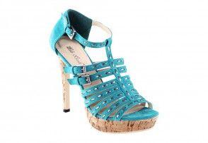 Sandal, turquoise
