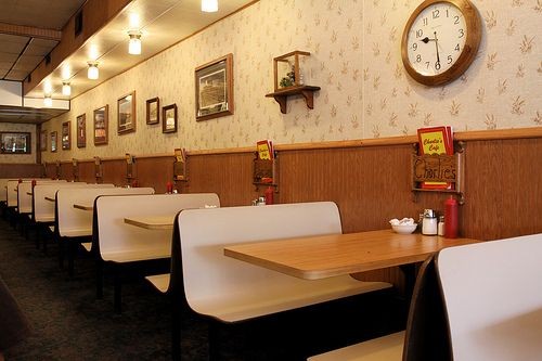 Laminated Plastic Restaurant Booths Restaurant Interiors