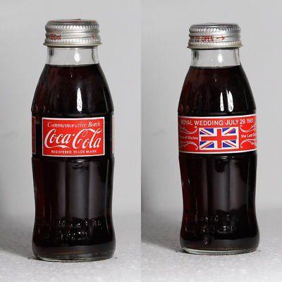 Royal Wedding Coco-Cola Bottle