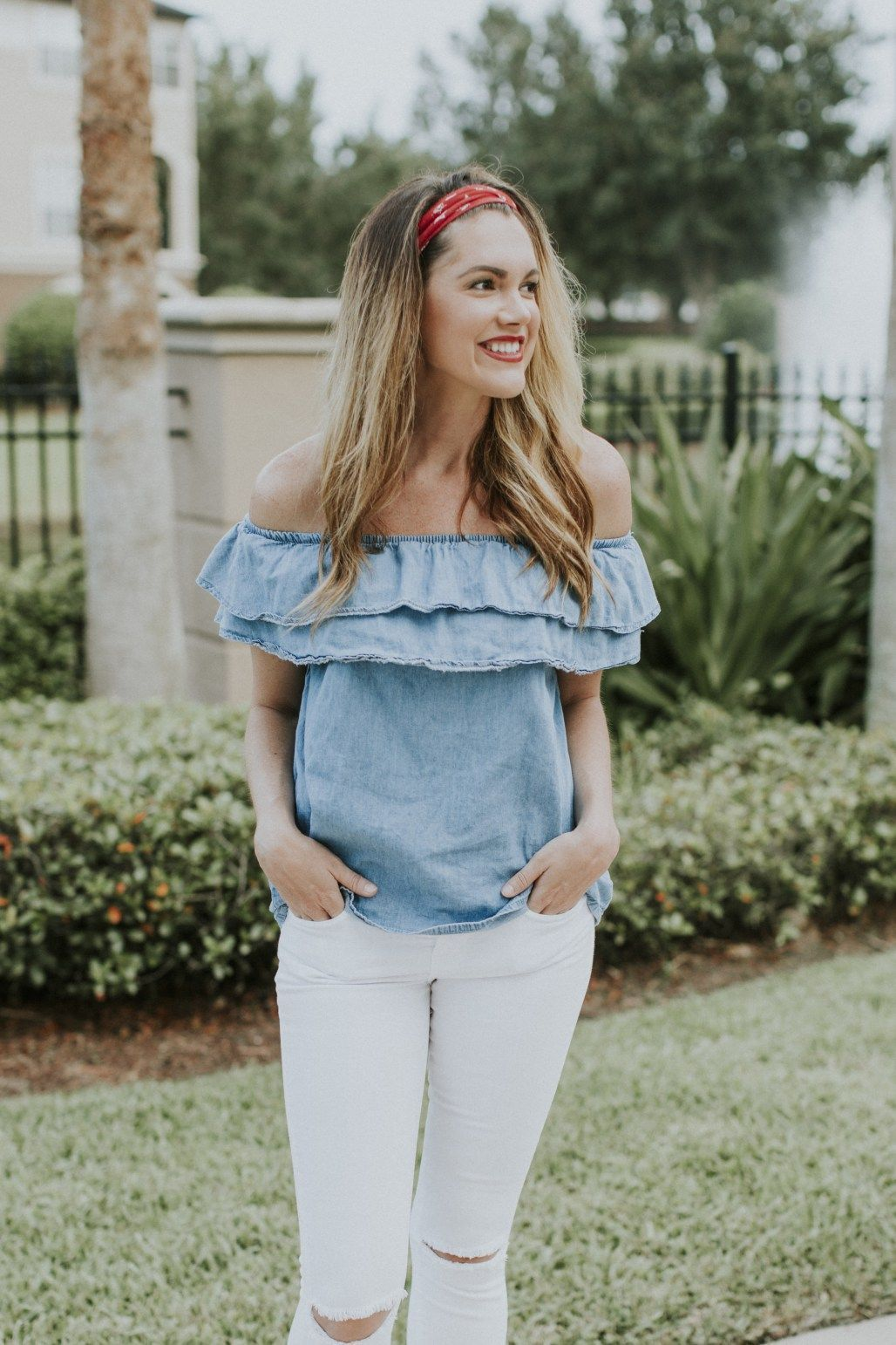 Red white u blue outfit ideas th of July fashion Patriotic Looks