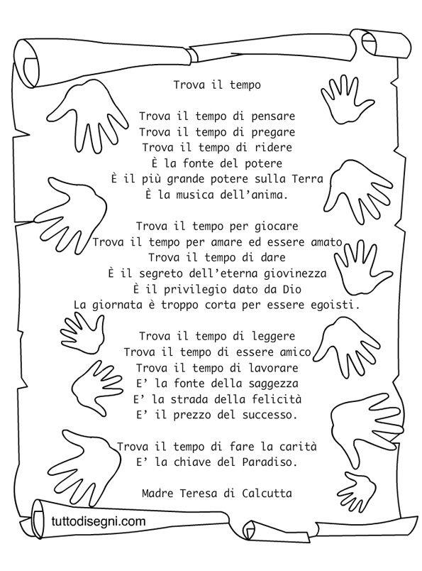 Préférence poesia-fine-anno | Scuola | Pinterest | Filastrocche, Scuola e  AH05