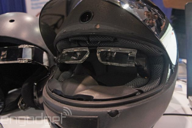 93e10089cc18 This augmented reality motorcycle helmet could save your life