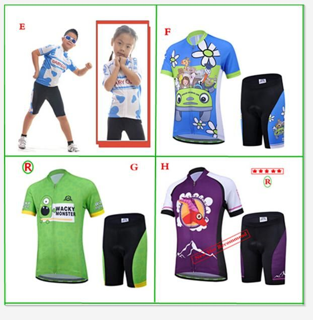 Best Cycling Shorts Cycling Jersey Child Kid Boys Girl Cycling Bike Bicycle  Short Sleeve Jersey + Shorts Suit M Xxl Children Sportwear Multicolor  Cycling ... 62e2c777c