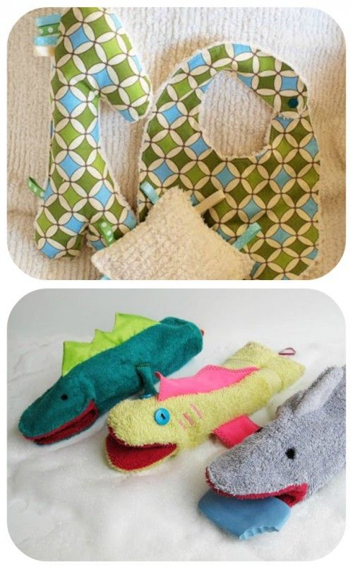 Homemade Sensory Toy And Washcloth Hand Puppets Great Home Made Baby Goos
