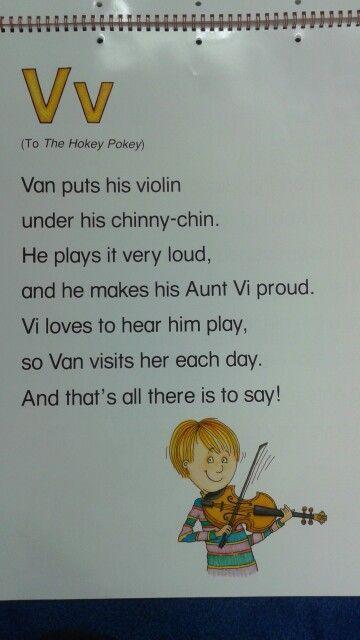 V Alliteration Poem | Teaching ideas | Preschool poems ...