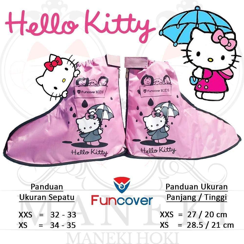 Jas Hujan Sepatu Anak Funcover Kids Doraemon Pelindung