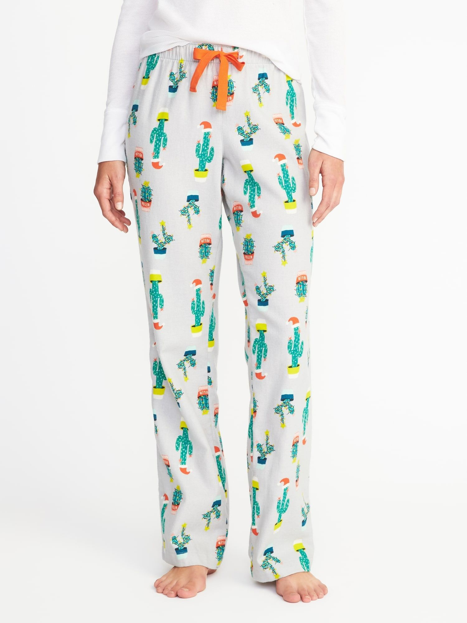 printed flannel sleep pants for women old navy old navy christmas pajamas old - Christmas Pajamas Old Navy