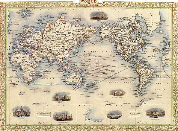 Map66g 594438 mapped things pinterest diagram chart map world mercators usa europe asia travel large vintage poster repro gumiabroncs Images