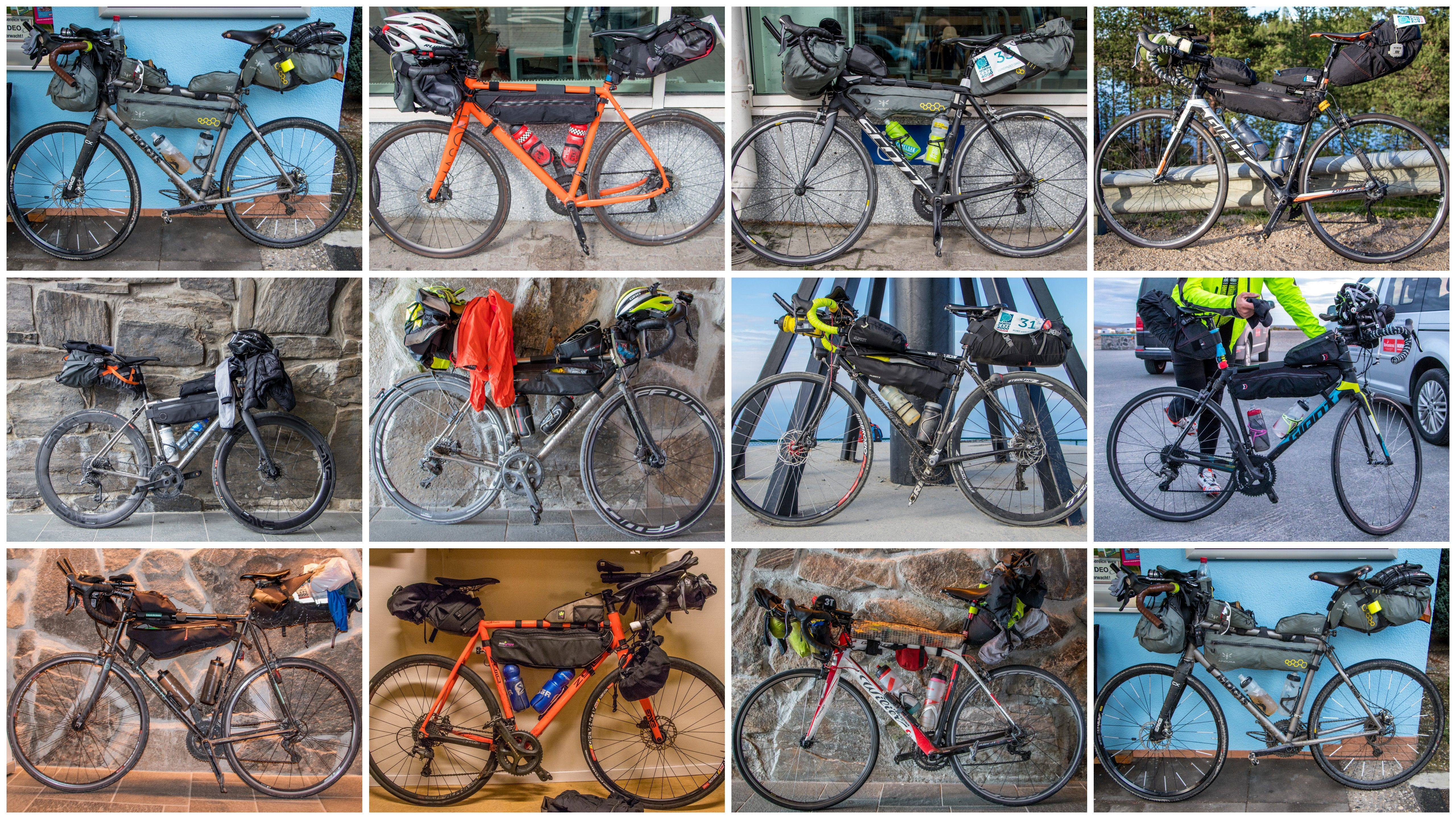 Bikes of the NorthCape4000