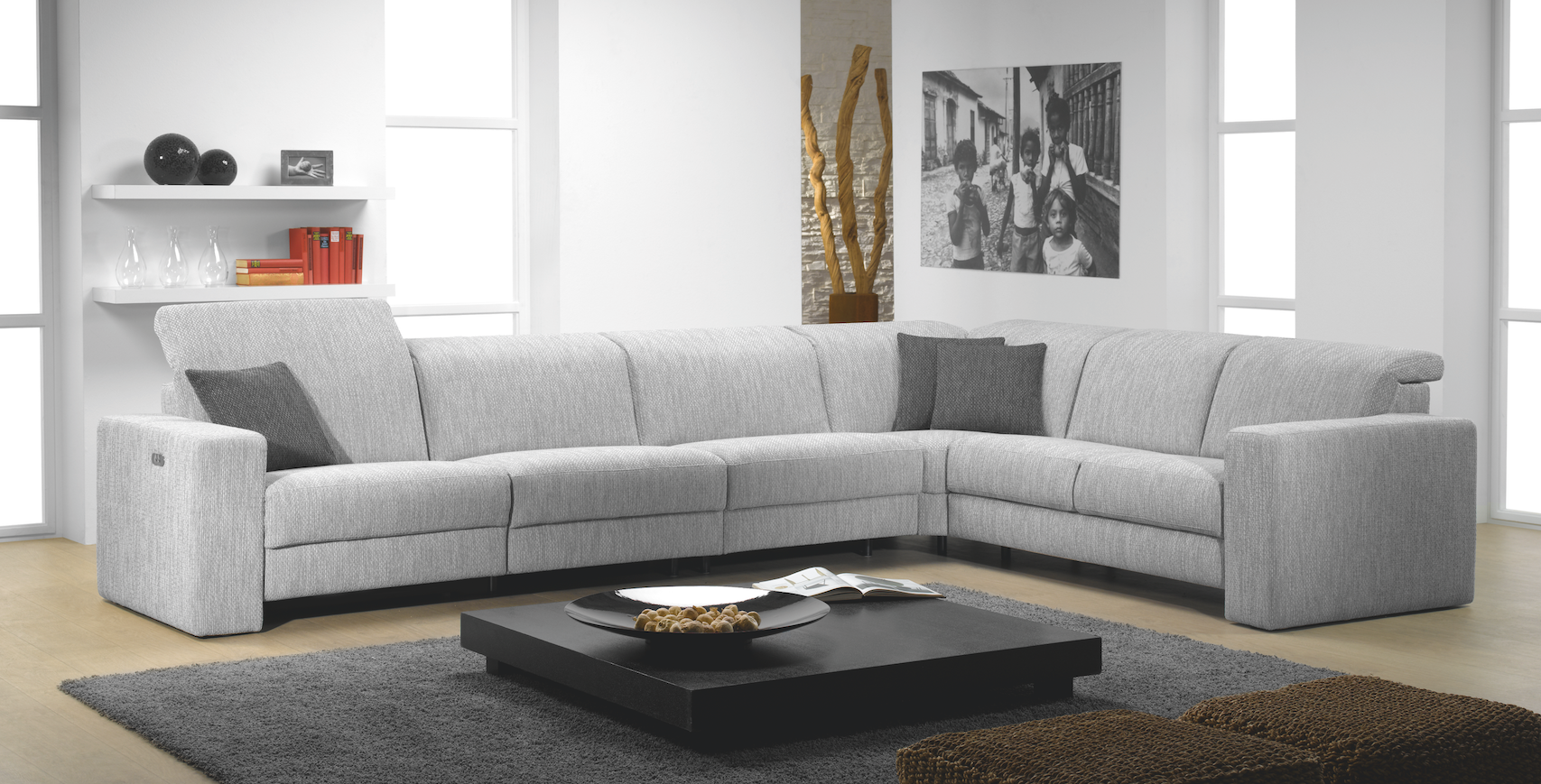 Add Sophisticated Style To Your Living Room With The Clean Lines Of Our  Artemis Sofa From