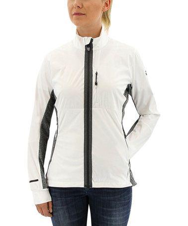 Another great find on #zulily! White Xperior Softshell Jacket - Women #zulilyfinds