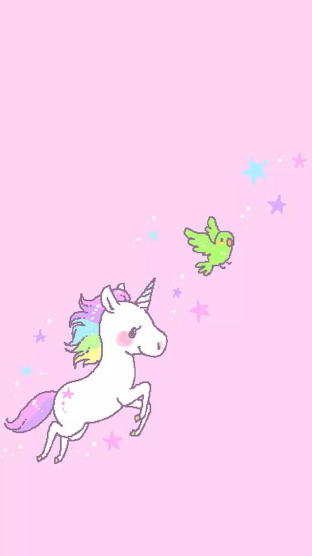 extremely cute wallpapers of unicorn - photo #22