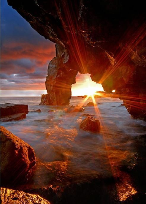 Portugal Sunset mother nature moments