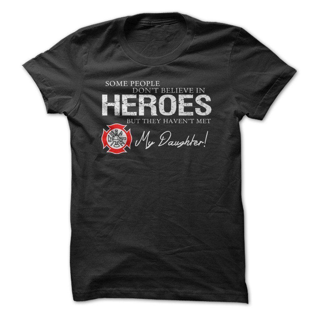 Hero Firefighter Daughter