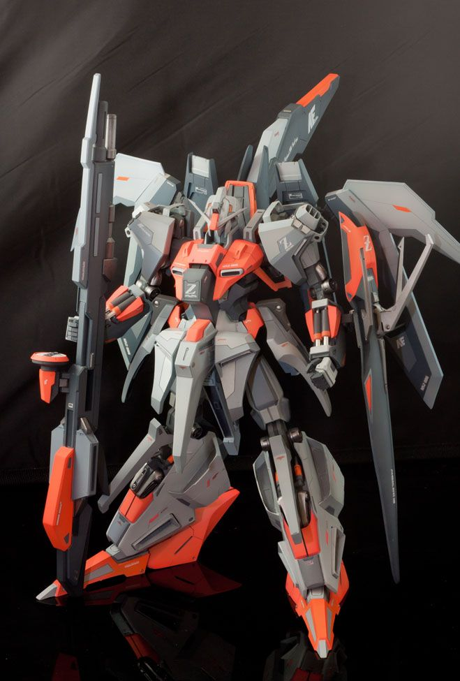 GUNDAM GUY: Resin Kit 1/72 MSZ-006 Hyper Zeta Gundam