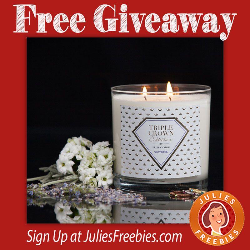 Free Pillsbury Samples Prize candle