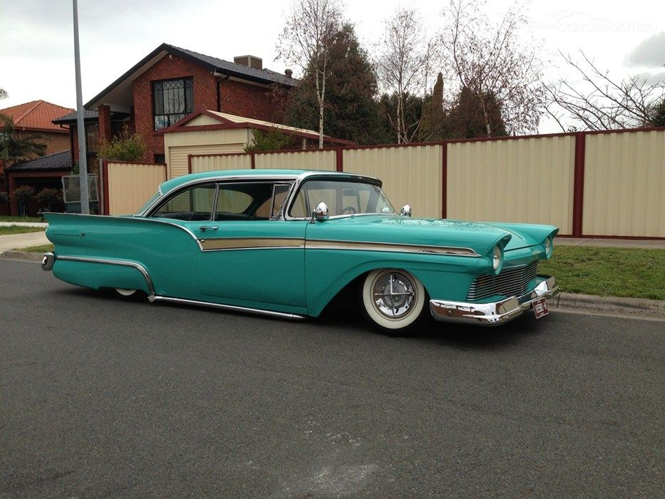 1957 FORD FAIRLANE MY57 500 SKYLINER coolcars Ford