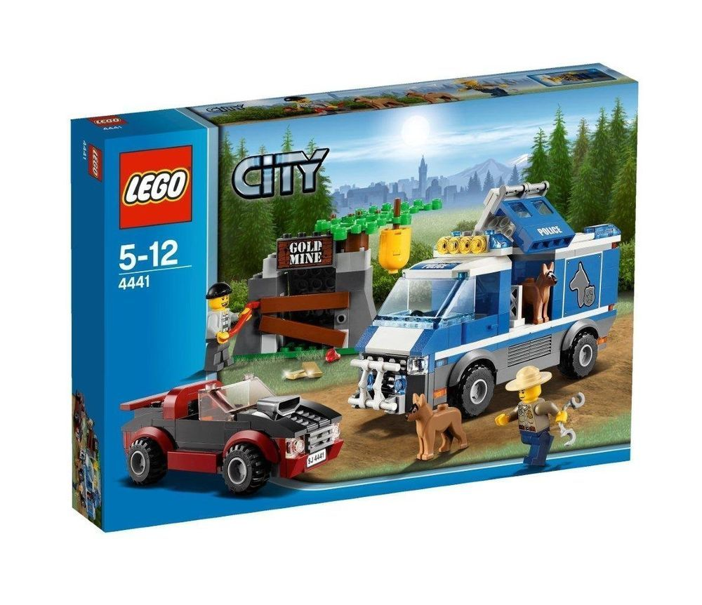 4440 FOREST POLICE STATION lego NEW city town SEALED legos set NISB park rangers
