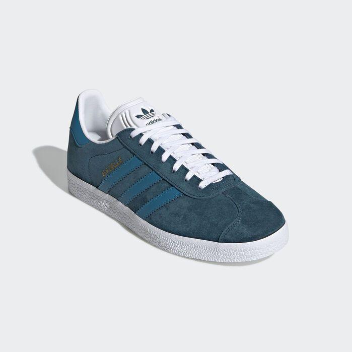 Gazelle Shoes Blue Womens   Blue adidas, Teal shoes, Adidas