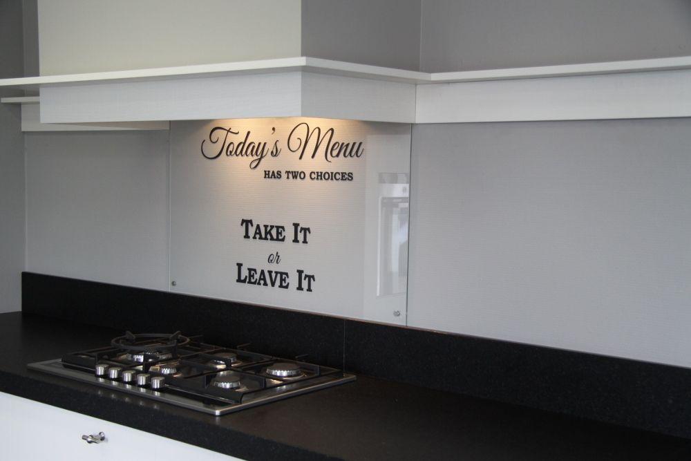 Keuken Achterwand Ideeen : Visualls keukenachterwand curlzglas startpagina voor keuken ideeën