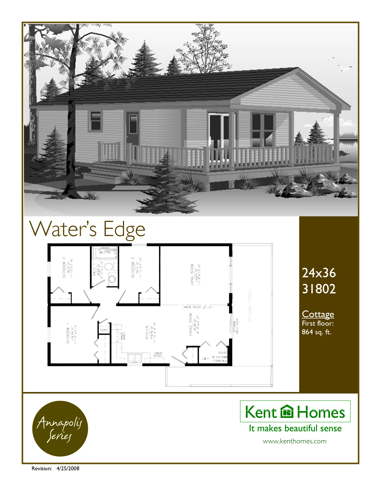 24 x 36 floor plans 24x36 floor plan modular homes for Cottage modular homes floor plans