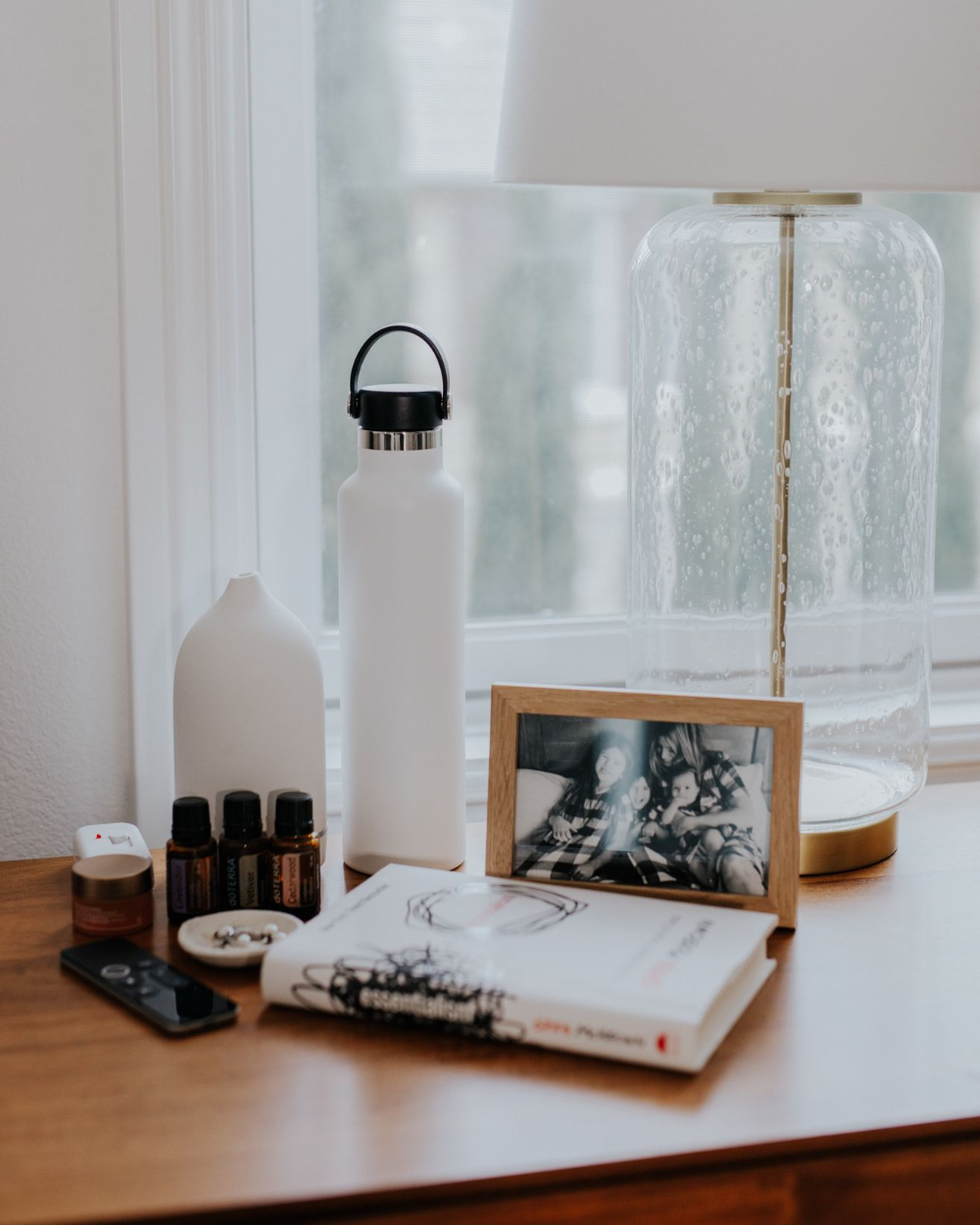 The nightstand is personal yet universal + it's always fun to see what you can't fall asleep without! What do you grab at 10pm, 2 am & when you wake up?