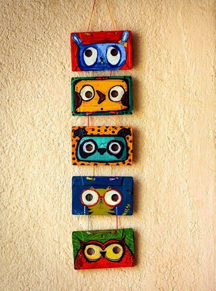 Cassettee Tapes Wall Decor Ideas   Owl be seeing you...   Pinterest ...