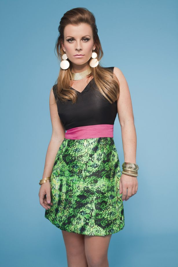 clearance prices new collection cheapest Coleen Rooney unveils her new retro range for Littlewoods ...