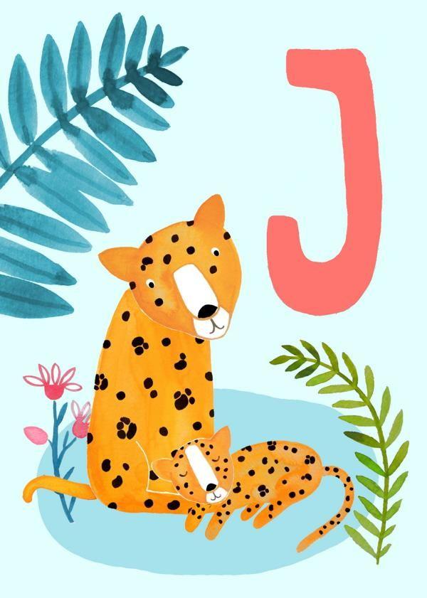 abc karte j wie jaguar frauottilie abc alphabet
