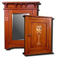 craftsman style medicine cabinets   arts and crafts mission ...