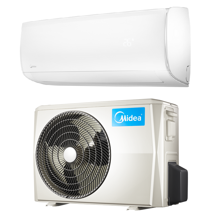 Hyper Heat Pump Ac In Minisplitwarehouse Com Get A Midea 9000 Btu 24 7 Seer 220v Premier Mini Heat Pump Air Conditioner Ductless Heat Pump Ductless Mini Split