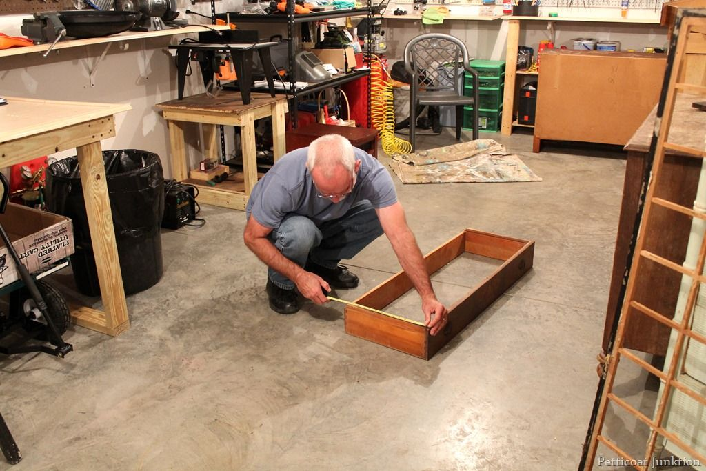 How to replace a drawer bottomfurniture repair