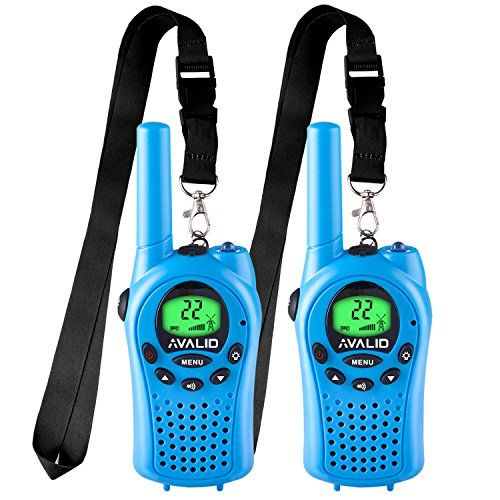 AVALID Walkie Talkies for kids, 22 Channel FRS/GMRS Long