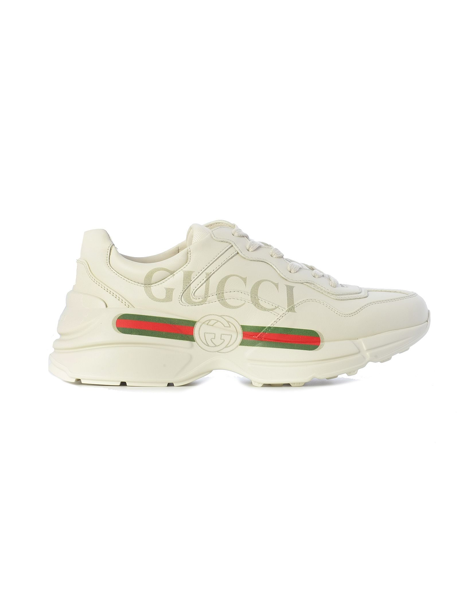 a379882245c GUCCI RHYTON FAKE LOGO SNEAKERS. #gucci #shoes | Gucci in 2019 ...