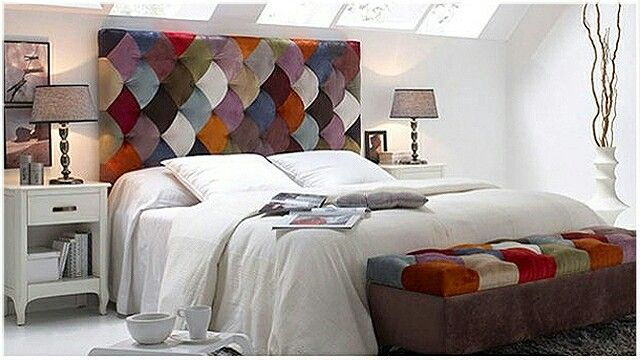 Sanderson home Testiera letto matrimoniale patchwork | Idea ...