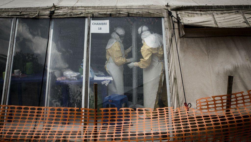 WHO (World Health Organization) says Ebola outbreak in DR
