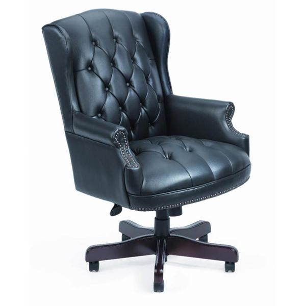 Boss Black Traditional High Back Executive Chair Ping The Best Prices