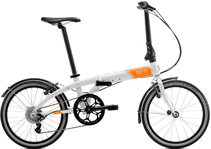Fig The Folding Bike Tern Link D8 Has 12 1 Kg And Measures In