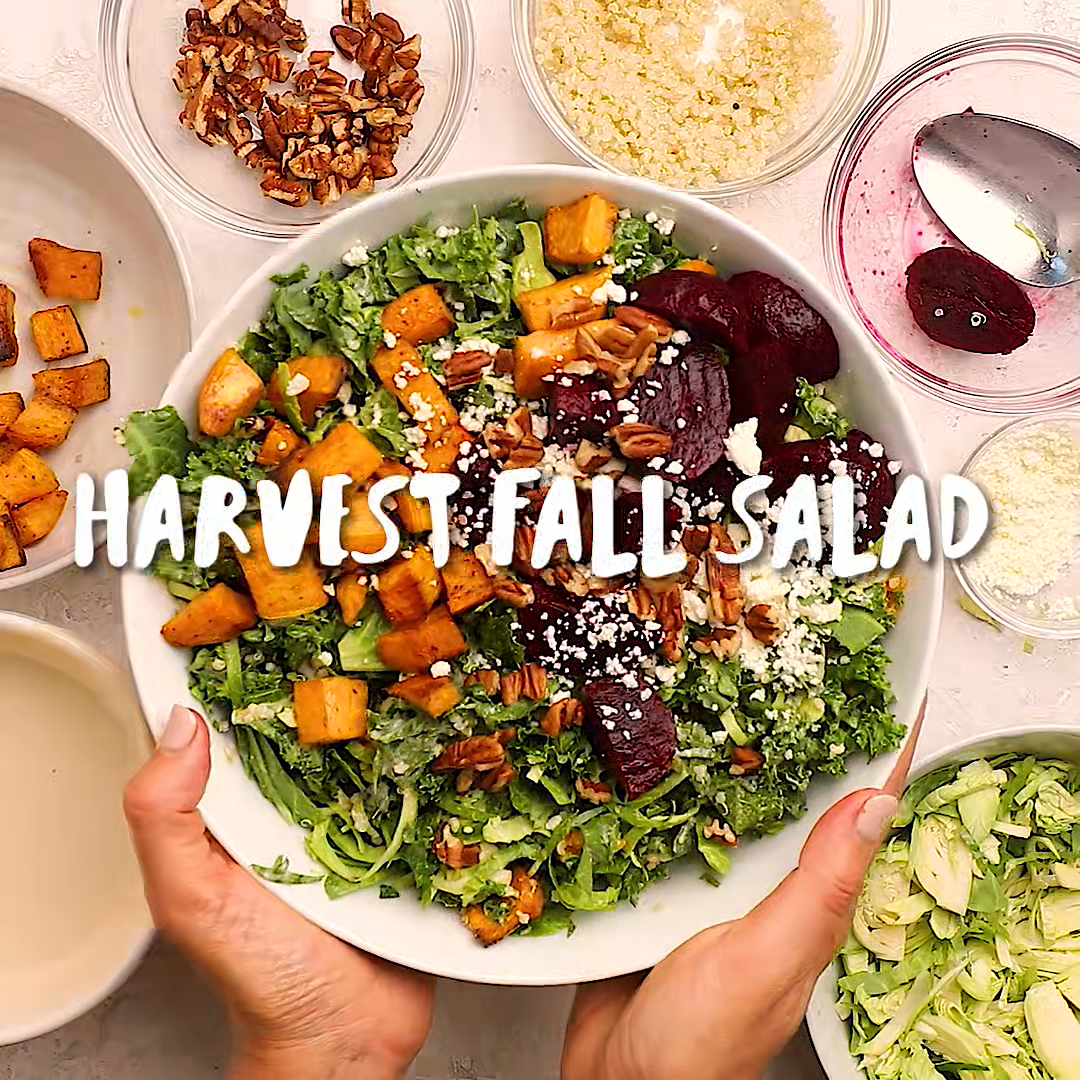 Fall Harvest Salad Video