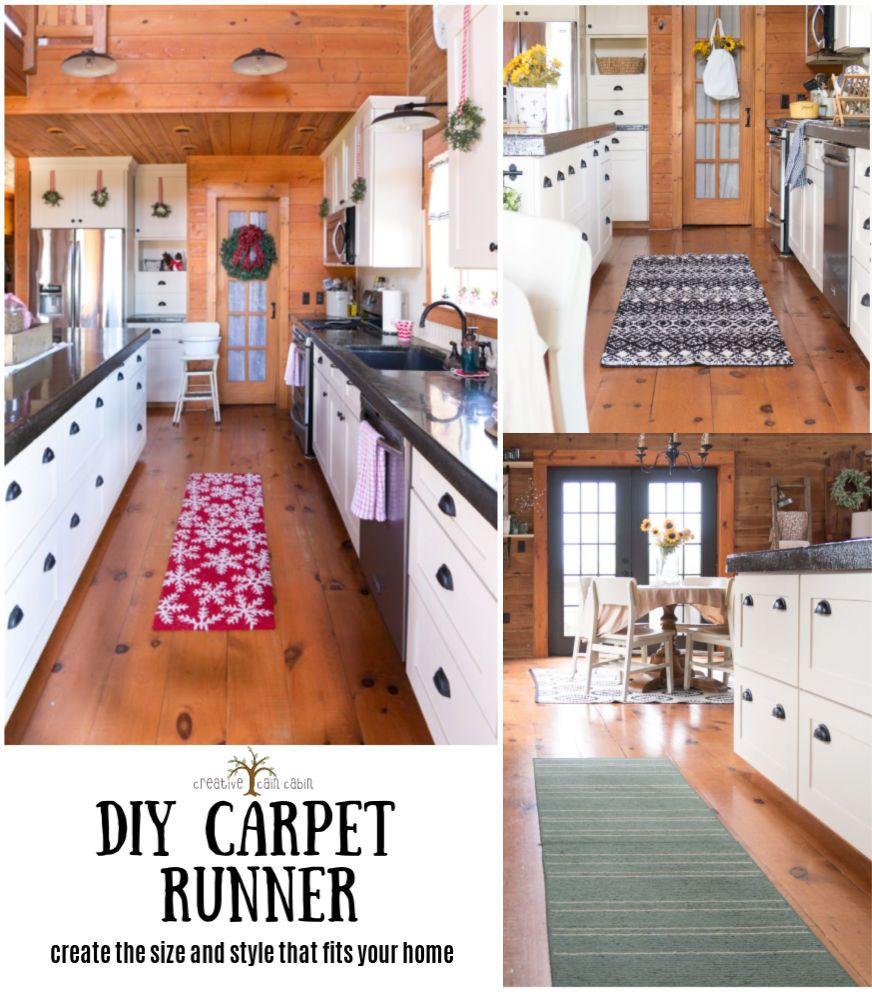 Diy custom carpet runner creative cain cabin custom