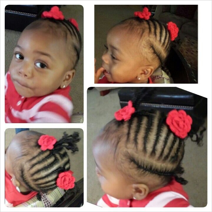 Baby Braids Protective Style Natural Hair Coco Styles For Appointments Call Text 770 685 O9 Toddler Braid Styles Natural Hair Styles Baby Girl Hairstyles
