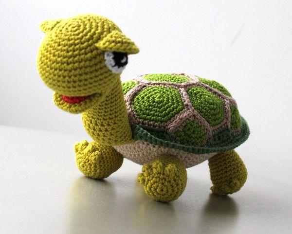 Häkelanleitung Schildkröte Häkeln Pinterest Häkeln