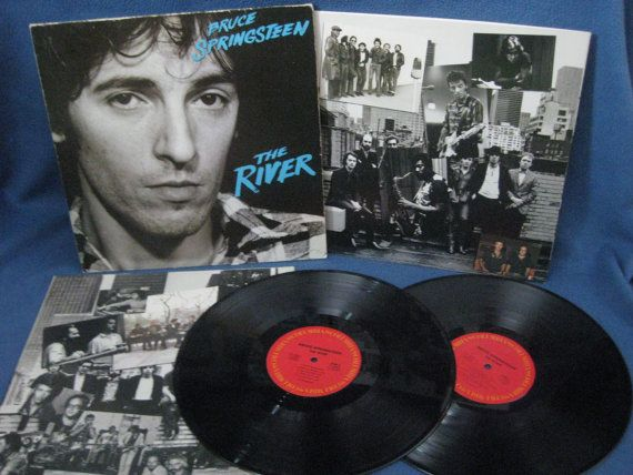 Vintage Bruce Springsteen Quot The River Quot Vinyl Lp Record Album The Boss Original 1980 Cbs Reco Vinyl Sales Springsteen The River Bruce Springsteen