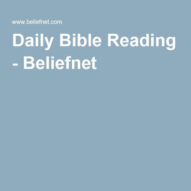 Daily Bible Reading - Beliefnet