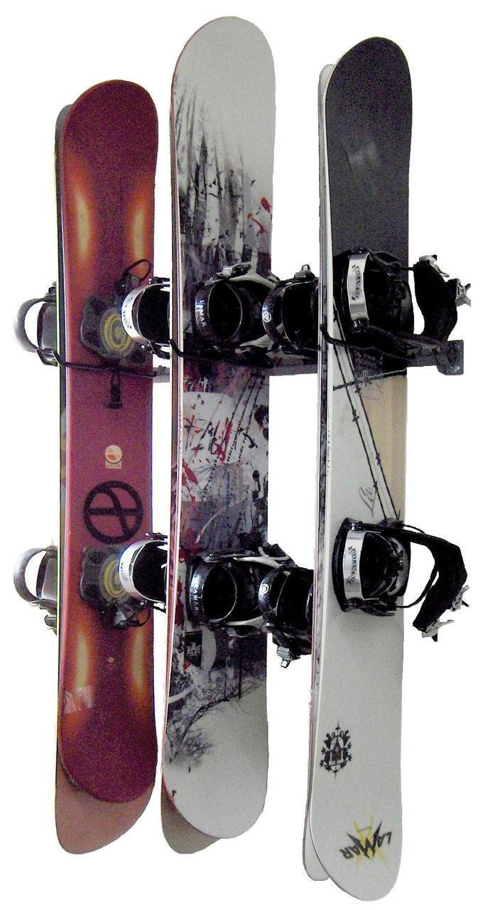 Snowboard Storage | 6 Boards   StoreYourBoard.com · Garage Storage  RacksSnowboardsUtahArrangementWorkshop