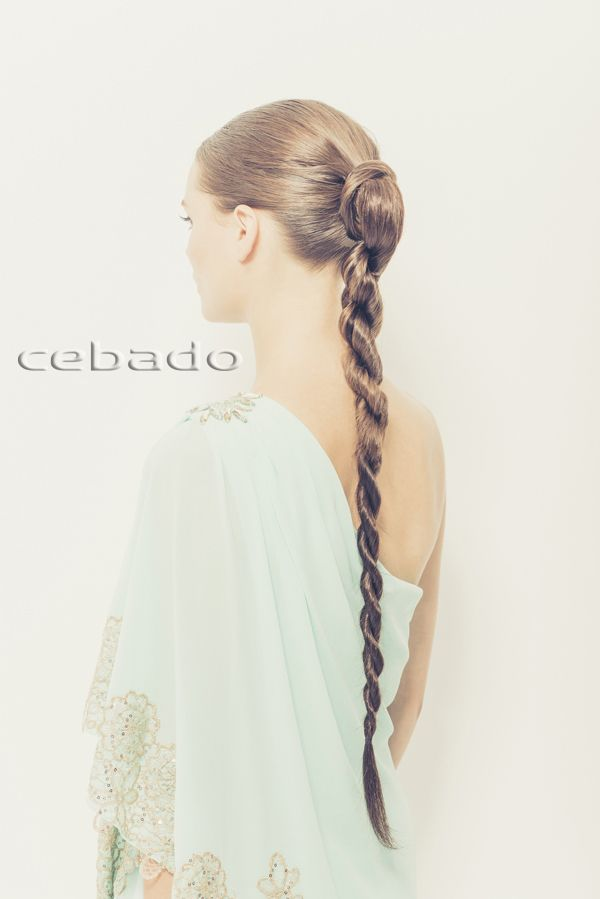 Tendencias CEBADO Primavera - Verano 2015 - Recogido coleta twist hairdo - spring - summer