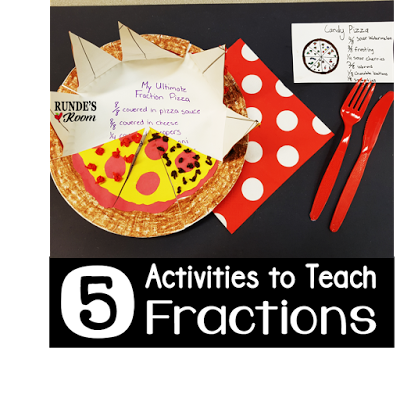 5 Activities for Teaching Fractions | Runde's Room | Bloglovin'